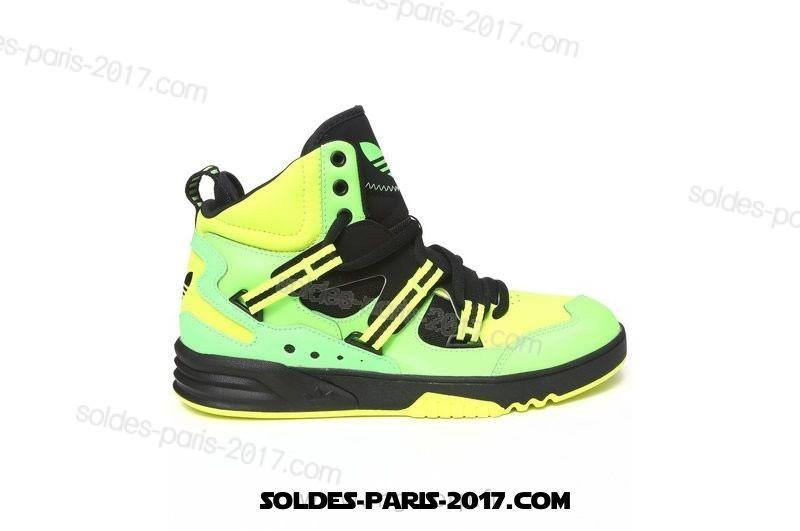 chaussure adidas verte homme