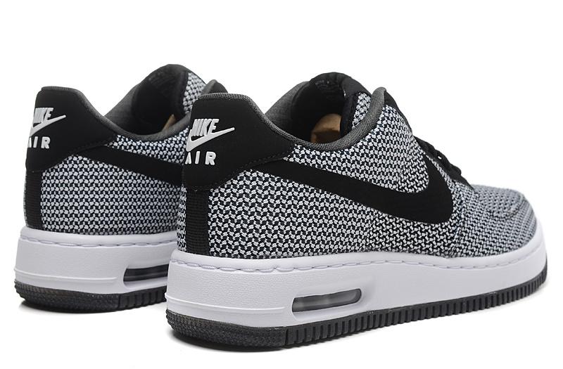 air force 1 gris et noir