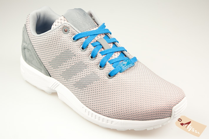 best service 931ca ebeb5 chat Adidas ZX Flux Weave Clear Aqua Femme