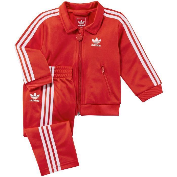 Blanc Adidas Jogging Rouge Et lc1uTFKJ35