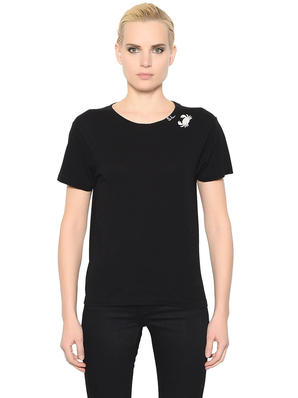 yves saint laurent t shirt logo