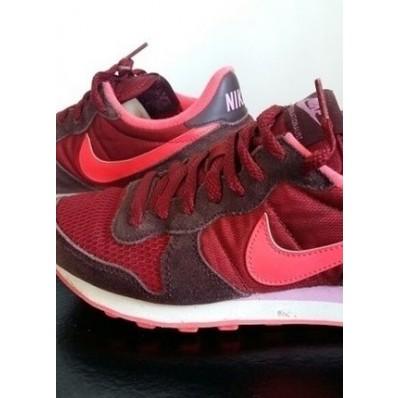 buy online 13cc9 44dc8 nike internationalist w chaussures bordeaux rose