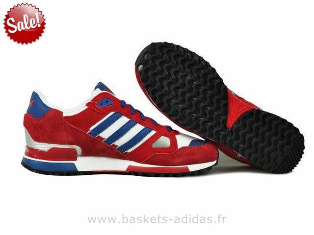 blanc bleu zx rouge adidas 750 kn0OwP