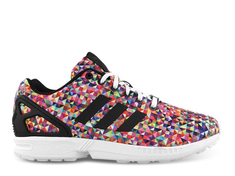adidas zx flux femme multicolor