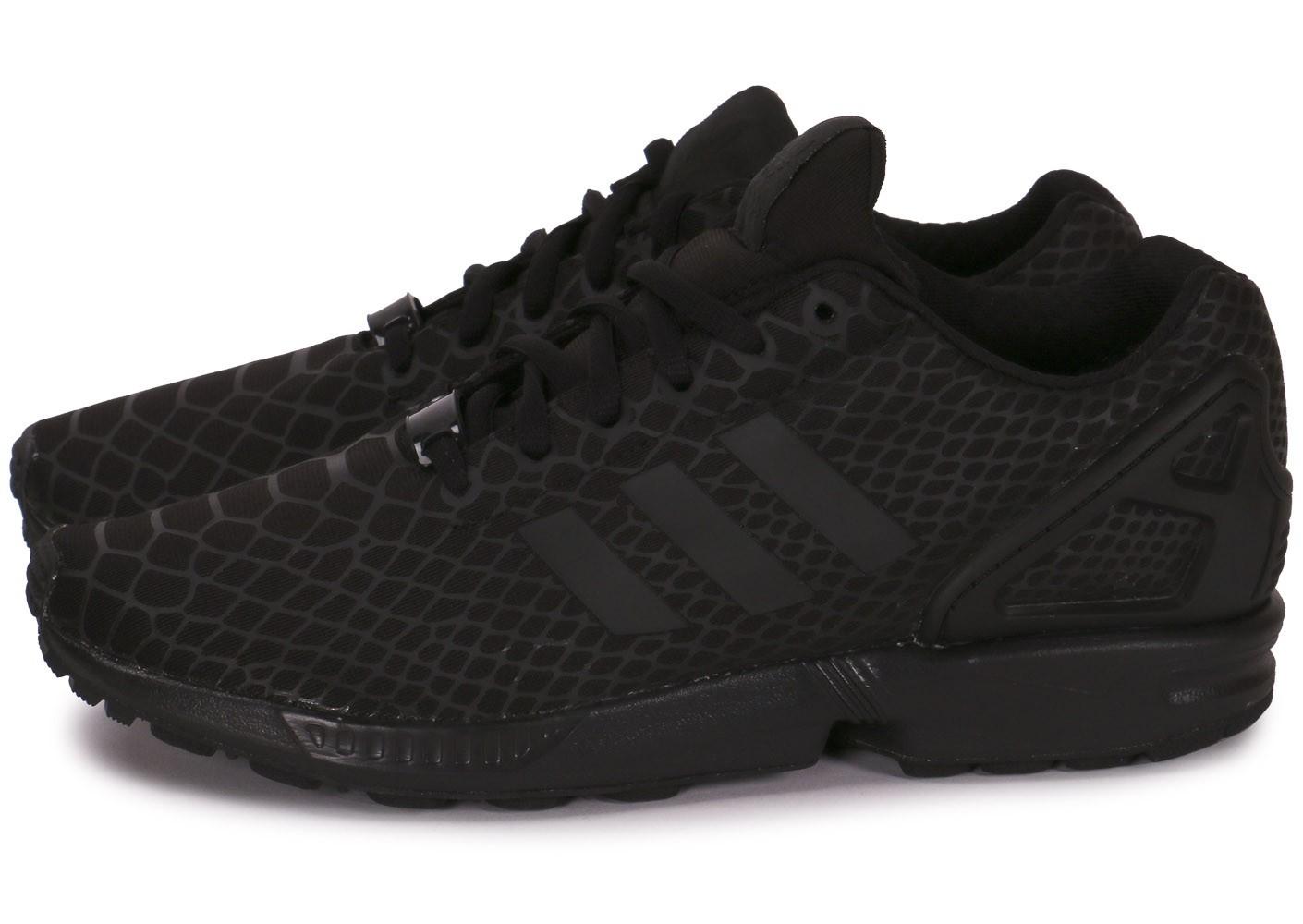 chaussure adidas zx flux noir homme