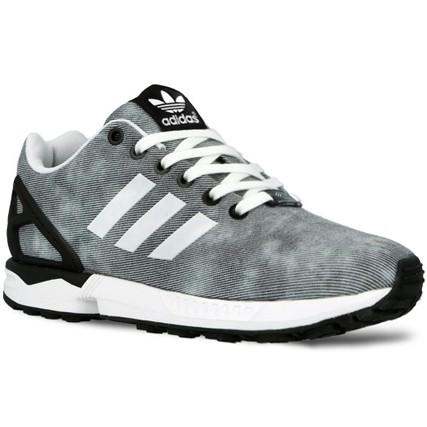 chaussure femme adidas zx flux gris