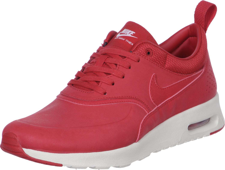 on sale d261d fb3b6 nike air max thea premium w chaussures gris rose