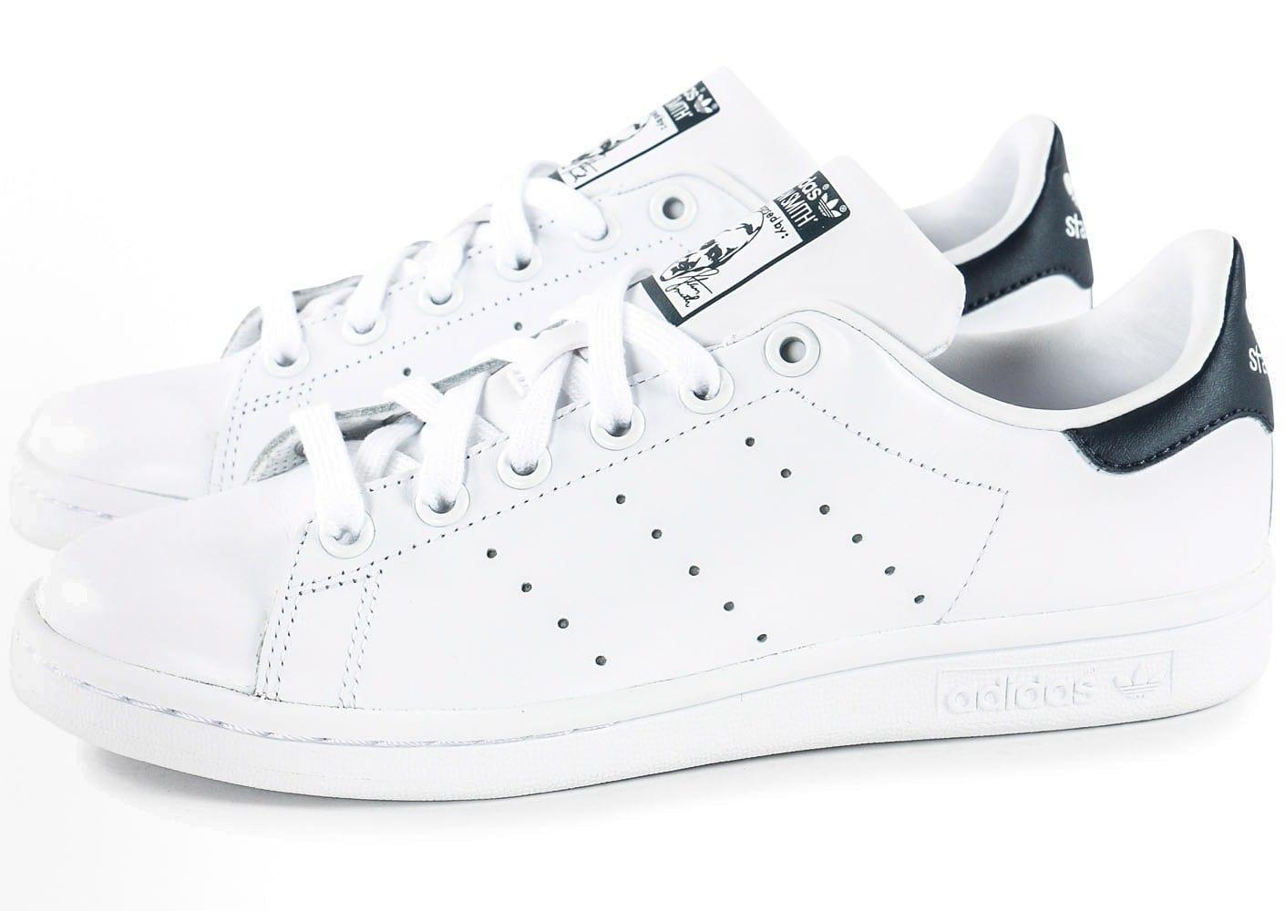 pick up 0040e 931d7 adidas stan smith femme bleu marine, Cliquez pour zoomer Chaussures adidas  Stan Smith blanche et