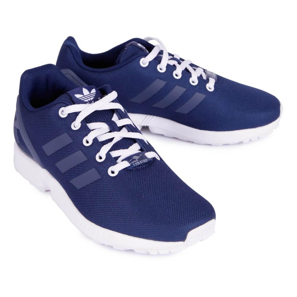 meilleur site web 588b1 5e405 wholesale adidas zx flux blue marine 2730a 56a19